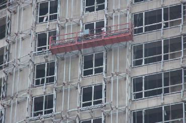 Платформа од алуминијума висине 7,5м 1000кг са једнофазном, гондолском платформом