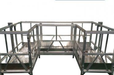 висока чврста радна платформа са у-траком