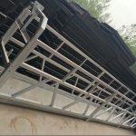 алуминијумска легура злп630 / 800 лл, челична конструкција подизна радна платформа лифт на грађевинским прозорима