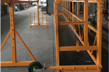 чишћење прозора обложена радна платформа безбедност злп 630 са дизалицом лтд6.3