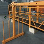 Једнофазна платформа са савитљивим ужетом 800 кг 1.8 кв, брзина подизања 8 -10 м / мин