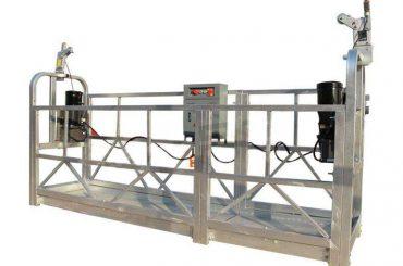 алуминијска легура суспендована радна платформа / гондола / скела злп 630